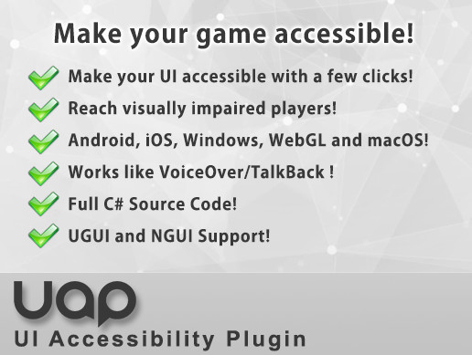UI Accessibility Plugin (UAP)