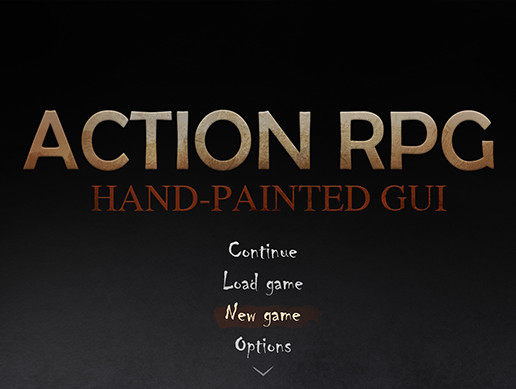 Action RPG GUI