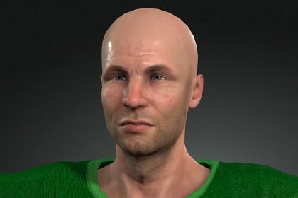 Real Human 3D Player02