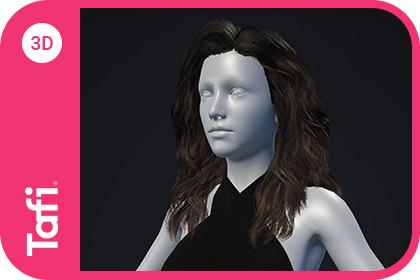 Bronwyn Hair Female from Tafi