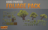 Hand Painted Foliage Pack