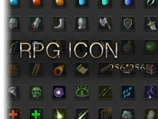 RPG Icon Set Vol.1