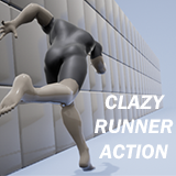 Runner Action Animation Pack
