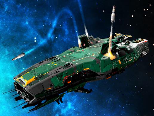 Federation Nukes Frigate GB5