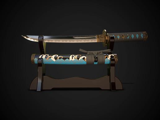 Samurai sword tanto No.01