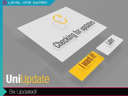 UniUpdate - Crossplatform Simple Version Updater - Asset Store