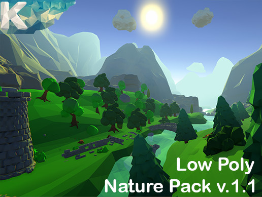 Low Poly Nature pack (K)