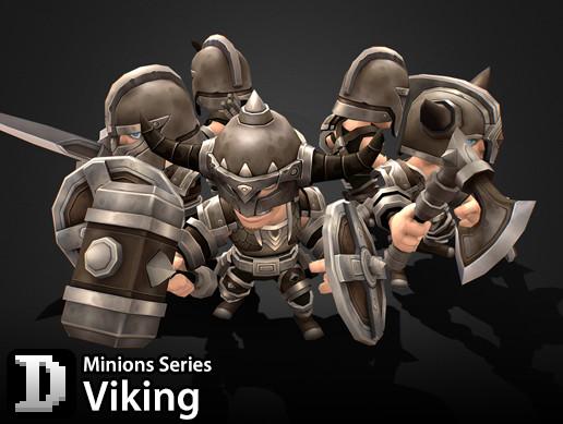Minions Series - Viking