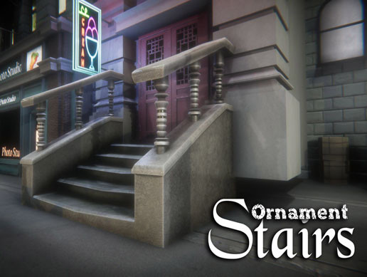 Ornament Stairs