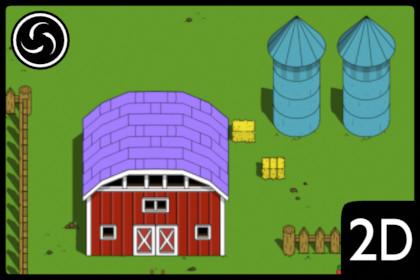 2D Top Down Farm World Tileset