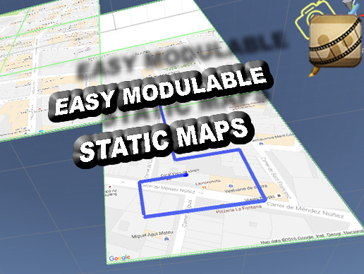 Easy Modular Static Google Maps and GPS
