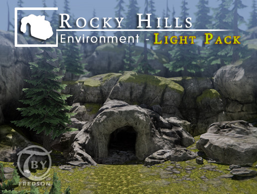 Rocky Hills Environment - Light Pack