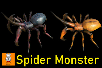 Spider scarab monster
