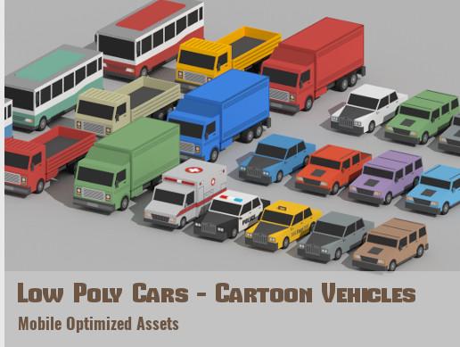 Unity 3D - SimplePoly World - Low Poly Assets by VenCreations