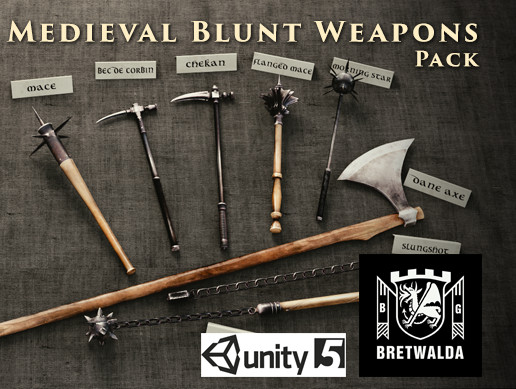 Medieval Blunt Weapons Pack