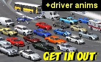 Get In Out Vehicle Collection - Asset Store