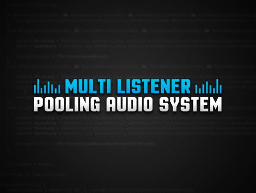 Multi Listener Pooling Audio System