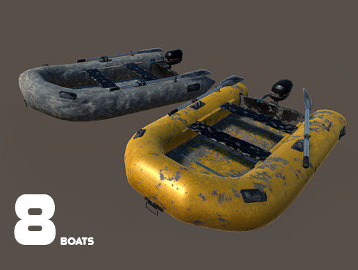 Realistic boat