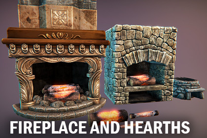 Fireplace and hearths