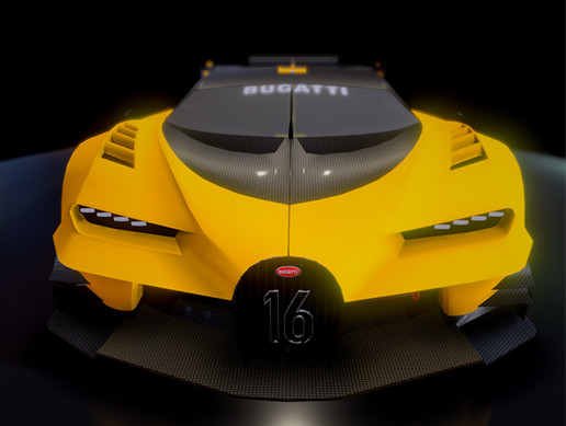Race game car, Shiron GT