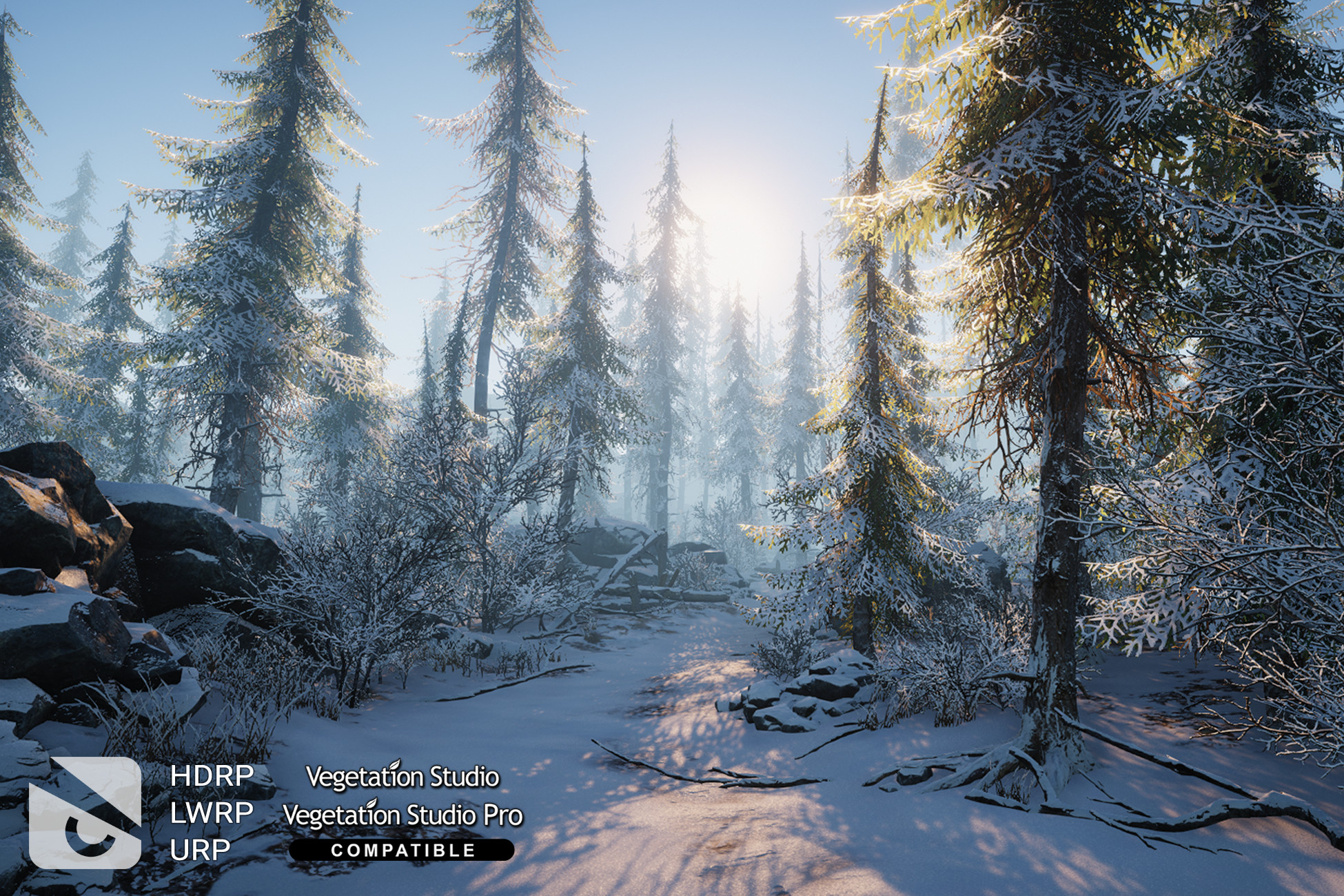 Winter Environment - Nature Pack