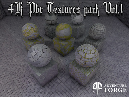 MDP 4K Texture Pack Vol.1