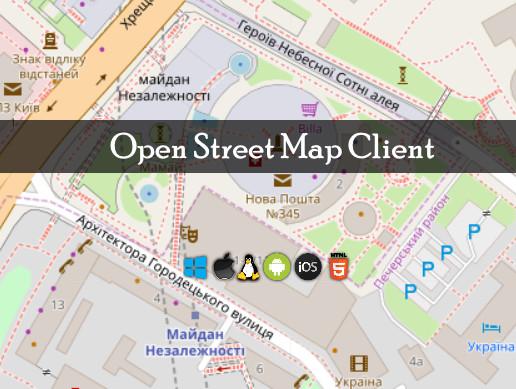 Open Street Map Client