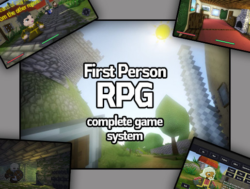 First Person RPG Complete Game System