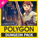 POLYGON Dungeons - Low Poly 3D Art by Synty