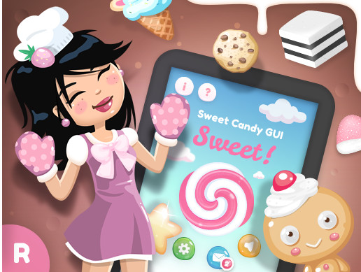 Sweet Candy GUI Pack