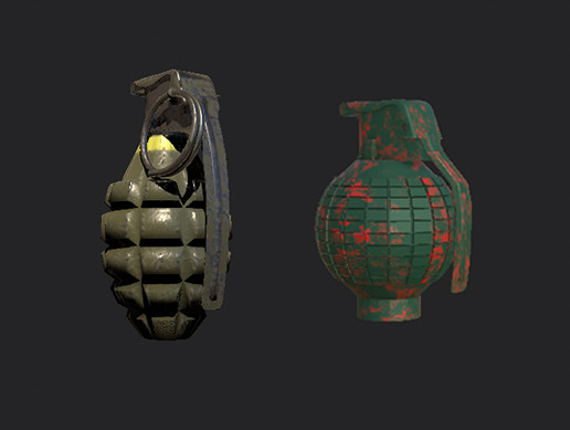 Weapon- Old grenades- FREE