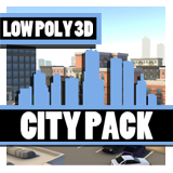 LOWPOLY - City Pack
