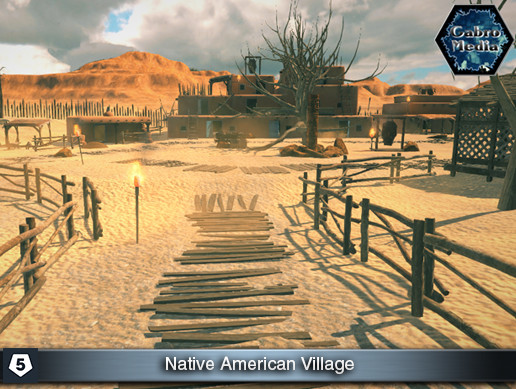 FPS Village: Native American Pack