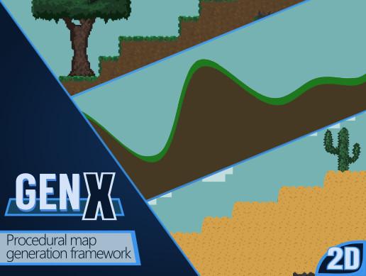 Map Generation Framework GenX 2D - Asset Store
