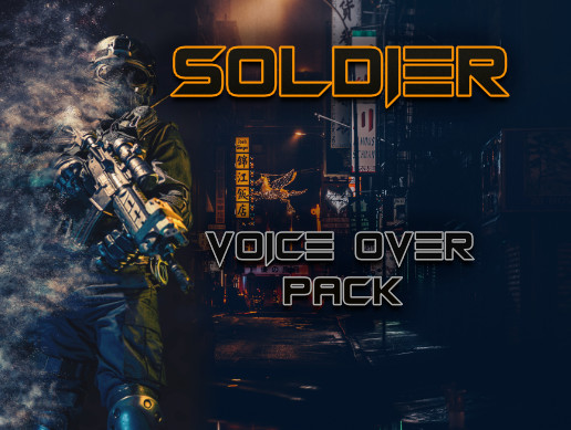 Soldier Professional Voice Over Pack