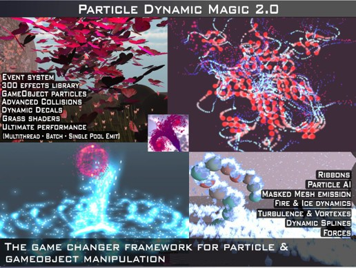 Particle Dynamic Magic 2: Decal, Spline, AI Particles & dynamics