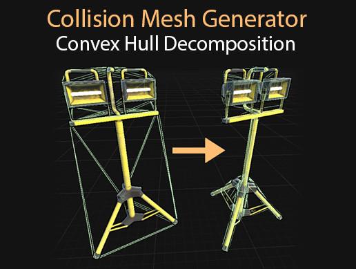 Collision Mesh Generator | Convex Decomposition