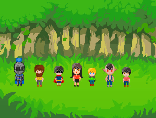 2d characters family