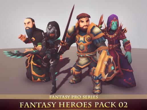 Fantasy Heroes Pack 02