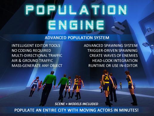 Population Engine - Asset Store