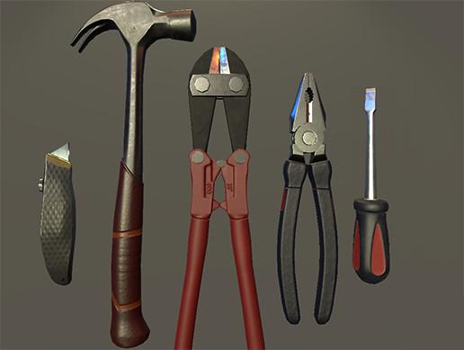 HQ PBR Tool Set