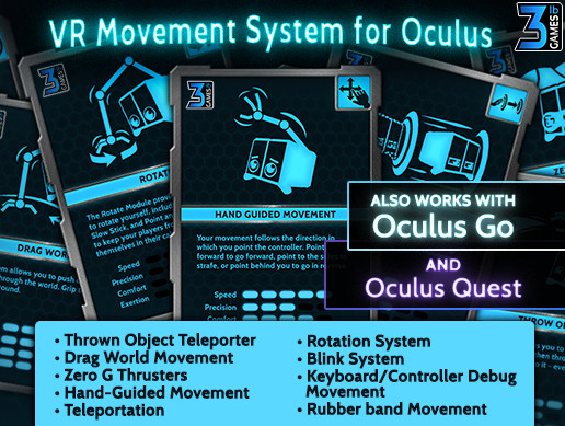 VR Movement System for Oculus