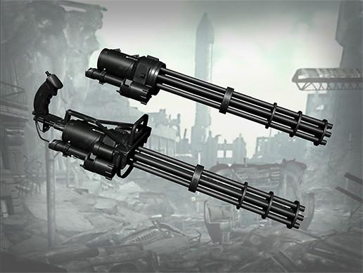 Dual Mini Gun System