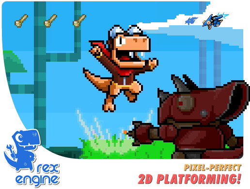 Rex Engine: Classic 2D Platformer Engine