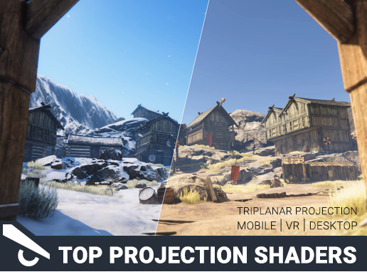 Top Projection Shaders Pack