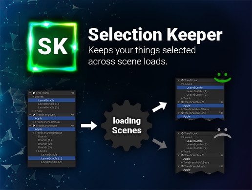 Selection Keeper - Unity Editor
