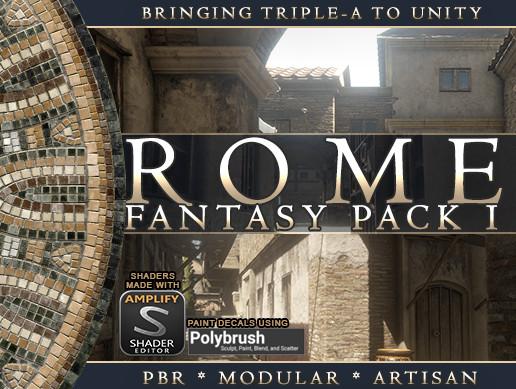 Rome: Fantasy Pack I - Asset Store