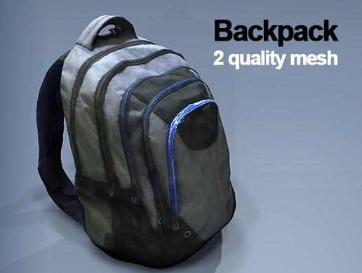 backpack 2 mesh quality