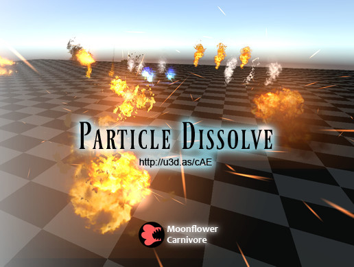 Particle Dissolve Shader Package