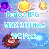 Perfect RPG MMO 3D Effect VFX Pack